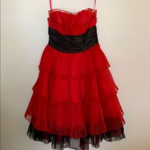 Betsy Johnson original strapless dress